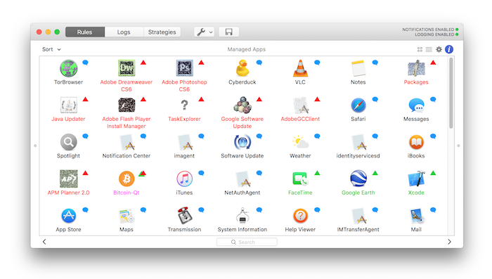 Vallum 3.1 Mac 破解版 小巧而实用的防火墙工具-麦氪派